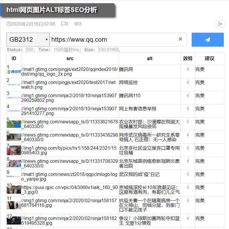 html网页图片ALT标签SEO分析